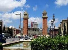 Plaza Espanya, Barcelona Stock Image