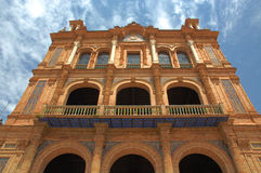 plaza för da espana Fotografering för Bildbyråer