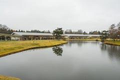 Plaza för Karuizawa prinsshopping, Japapn Arkivfoto