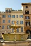 Plaza Farnese (Roma Italia) de la fuente Fotografía de archivo libre de regalías