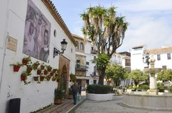 Plaza Fernando Alcala Στοκ Φωτογραφίες
