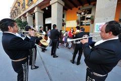 Plaza Garibaldi - Mexico - stad Royaltyfri Fotografi