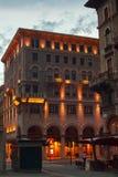Plaza Goldoni, Trieste Fotografía de archivo libre de regalías