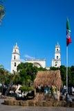 Plaza Grande στο Μέριντα, Yucatan, Μεξικό Στοκ φωτογραφία με δικαίωμα ελεύθερης χρήσης
