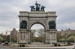 Plaza grande d'arm?e - Brooklyn, New York images stock
