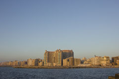 Plaza grande de San Stefano, Alexandria, Egipto. Foto de Stock Royalty Free