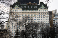 Plaza hotel Stock Photography