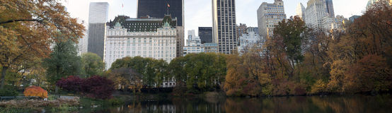 Plaza Hotel - Central Park South Royalty Free Stock Photos
