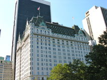 The Plaza Hotel, New York. The Plaza Hotel from Central Park, New York City Stock Photography