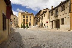 Plaza i Segovia, Spanien Royaltyfri Foto