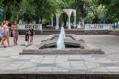 Plaza Independencia Mendoza Argentina Imagens de Stock Royalty Free