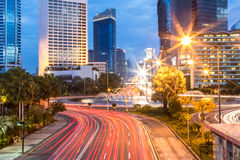 Plaza Indonésia em Jakarta foto de stock royalty free