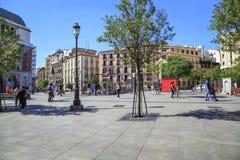 Plaza Isabella II, Madrid Photographie stock libre de droits