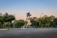 Plaza Italia en Palermo - Buenos Aires, la Argentina imagen de archivo libre de regalías