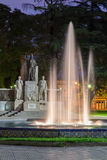 Plaza Italia Mendoza Argentina Stock Photography