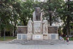 Plaza Italia Mendoza la Argentina Imagen de archivo libre de regalías
