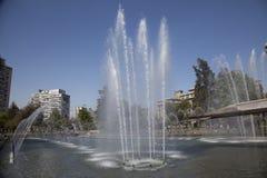 Plaza a La Aviación, Santiago de Chile royalty free stock photos