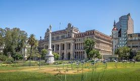 Plaza Lavalle με το ανώτατο δικαστήριο της Αργεντινής και Mirador Massue - το Μπουένος Άιρες, Αργεντινή Στοκ εικόνα με δικαίωμα ελεύθερης χρήσης