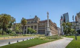 Plaza Lavalle με το ανώτατο δικαστήριο της Αργεντινής και Mirador Massue - το Μπουένος Άιρες, Αργεντινή Στοκ Εικόνες