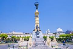 Plaza Libertad en San Salvador Fotos de archivo libres de regalías