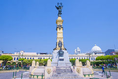 Plaza Libertad i San Salvador Royaltyfria Foton