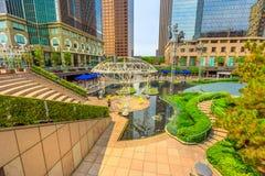 Plaza Los Angeles de California foto de archivo libre de regalías