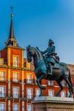 Plaza Major, Madrid, Spain Royalty Free Stock Photos