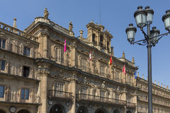 Plaza Major - Salamanca - Spain Royalty Free Stock Images