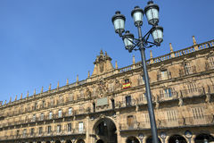 Plaza Major - Salamanca - Spain Royalty Free Stock Photo
