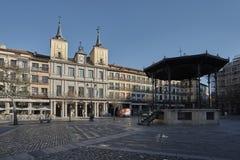 Plaza Major Segovia Fotos de archivo libres de regalías