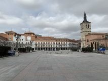 Plaza Major Torrejon de Ardoz stock images