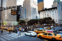 The Plaza in Manhattan New York City Royalty Free Stock Photo