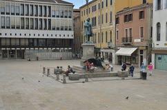 Plaza Manin Photos libres de droits
