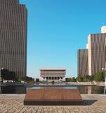 Plaza marker Royalty Free Stock Photo