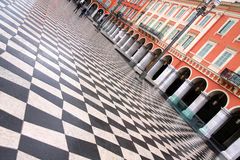 Plaza Massena Royalty Free Stock Images