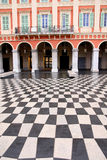 Plaza Massena Square. In the city of Nice, France stock photography