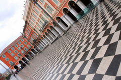 Plaza Massena Square. In the city of Nice, France royalty free stock photography