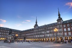 Plaza Mayor Royalty Free Stock Photography