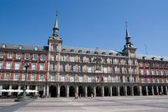 Plaza Mayor Royalty Free Stock Image