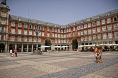 The Plaza Mayor Stock Photos
