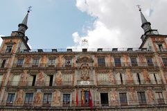 Plaza Mayor. Madrid stock photo