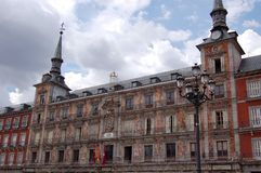 Plaza Mayor. Madrid stock photography