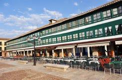 Plaza Mayor of Almagro, Spain Stock Image