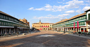 Plaza Mayor of Almagro, Spain Stock Photo