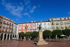Plaza Mayor in Burgos, Spain Royalty Free Stock Photo