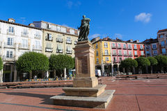 Plaza Mayor in Burgos, Spain Royalty Free Stock Photos