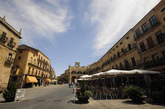 Plaza Mayor of Ciudad Rodrigo Stock Photos