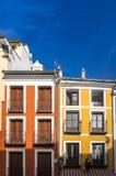 Plaza Mayor de Cuenca Stock Images