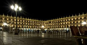 Plaza mayor de Salamanca royalty free stock image