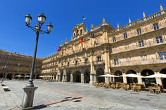 Plaza Mayor de Salamanca (Salamanca Major Square), Salamanca, Spain. Stock Images